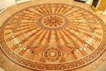 ID:314; Custom medallion 12 ft. diameter